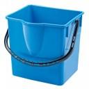 Вик: Ведро 25л пластик синий