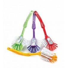 Вик: Щетка с ручкой для посуды и раковин овальная