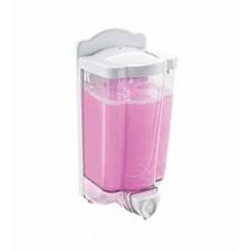 Вик: Дозатор 900мл для жидкого мыла наливной пластик прозрач.