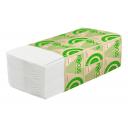Хаят: Полотенца бумажные V 1сл 200л 23х20,5см ЭКО белые