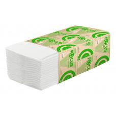 Хаят: Полотенца бумажные V 1сл 250л 23х20,5см ЭКО белые