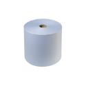 Хаят: Полотенца протирочные 2сл 350м/24 ФОКУС Джамбо белые с  цветным тиснением