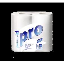 "Бумажные полотенца: ""PROtussiu 2сл белые /пач.=2 шт."