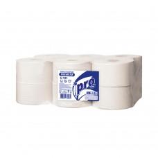 Вик: Бумага туалетная 2сл 170м целлюлоза 100% белая ПРО