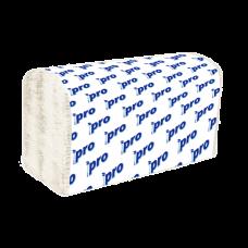 Вик: Полотенца бумажные V 1сл 250л целлюлоза 100% 25г 21х23см белые ПРО