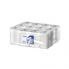 Вик: Полотенца бумажные ЦВ 1сл 120м целлюлоза 100% белые ПРО