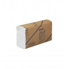 Kimberly-Clark: Полотенца бумажные Скотт Мультифолд 250 листов 1-слойные белые