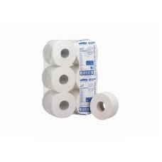 Kimberly-Clark: Бумага туалетная Скотт Джамбо Мини 200 метров 2-слойная белая