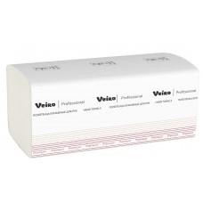 VEIRO: Полотенца бумажные V 1сл 250л 22х23см Comfort белый