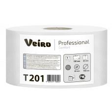 VEIRO: Бумага туалетная 1сл 180м/9,5 Comfort белый