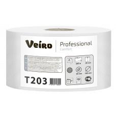 VEIRO: Бумага туалетная 2сл 200м/9,5 Comfort белый