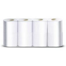 VEIRO: Бумага туалетная 2сл 25м/9,5 Comfort белый /пач.=8 шт.