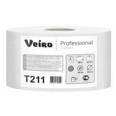 VEIRO: Бумага туалетная 2сл 80м/9,5 Comfort белый