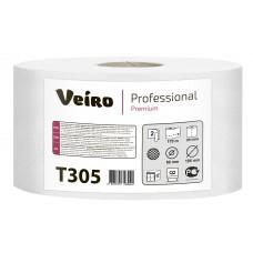 VEIRO: Бумага туалетная 2сл 170м/9,5 Premium белый