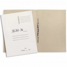 Канцелярские товары: Скоросшиватель картонный 260-280г/м ДЕЛО