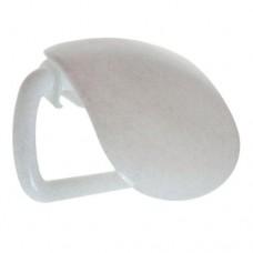 """Хозяйственный инвентарь: Держатель для туалетной бумаги """"Козырек"""" пластиковый"""