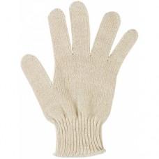 Перчатки: х/б вязаные 4-х ниточные белые
