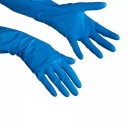 Vileda: Перчатки Комфорт S нитриловые голубые