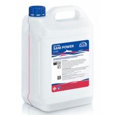 Dolphin: Сани-Пауэр 5л для уборки сантехники и туалетов