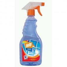 Чистящее средство: ХЭЛП 500мл для стекол (триггер) с нашат. спиртом