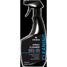Pro-Brite: Спрей Клинер 500мл для чистки любых щелочестойких поверхностей