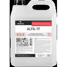 Pro-Brite: Альфа-19 5л для уборки после строительства и ремонта