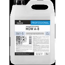 Pro-Brite: MDW A-8 5л для машинной мойки посуды в воде средней жёсткости