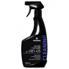 Pro-Brite: Гласс Клинер 500мл с нашатырным спиртом и отдушкой для чистки стекол