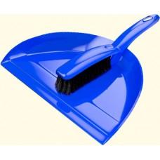 Хозяйственный инвентарь: Совок для мусора пластик +Щетка-сметка Клио