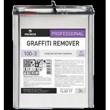 Pro-Brite: Граффити Ремовер 3л для экспресс-чистки стен и полов после ремонта