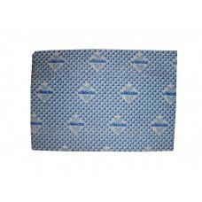 Vileda: Тряпка д/мытья полов 59х50см микроволоконная синяя