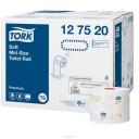 Tork: Бумага туалетная T6 Premium 90м/9,9 2сл компактный рулон белая