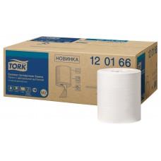 Tork: Полотенца бумажные M2 Universal 275 метров 1-слойные белые с центральной вытяжкой