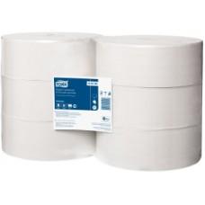 Tork: Бумага туалетная T1 525 метров однослойная в больших рулонах