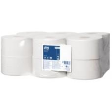 Tork: Бумага туалетная T2 Universal 200 метров однослойная в мини-рулонах