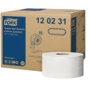 Tork: Бумага туалетная T2 Advanced 170 метров двухслойная в мини-рулонах