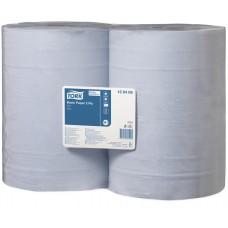 Tork: Салфетка W1 Universal 340м/36,9см 2сл 1000л бумажная базовая протирочная бумага голубая