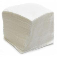 Бумажные салфетки: столовые 1сл 100листов 24х24 белые