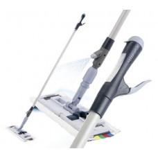 Vileda: Спрей Про: Ручка Инокс в сборе 145см с резервуаром для моющего средства