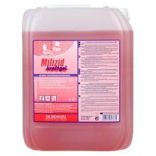 Dr.Schnell: Милицид Крафтгель 10л для генеральной очистки санитарных зон кислотное