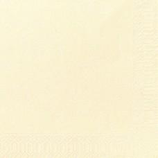 DUNI: Салфетки столовые 2сл 300листов 40х40 1/8 ваниль