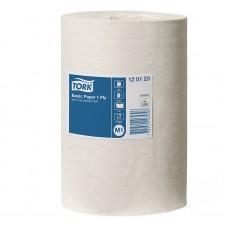Tork: Полотенца бумажные M1 Universal 120м/21,5 1сл белые с центральной вытяжкой