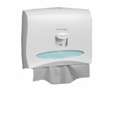 Kimberly-Clark: Диспенсер для индивидуальных покрытий на сиденье унитаза белый