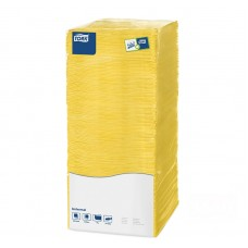 Tork: Салфетки Universal 500л 1сл 25х25см 1/4 желтые