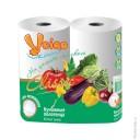 Бумажные полотенца: Виеро Линия 2сл белые
