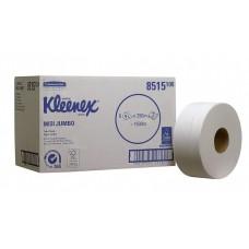 Kimberly-Clark: Бумага туалетная Клинекс Джамбо Миди 250 метров 2-слойная белая