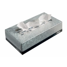 Kimberly-Clark: Салфетки Клинекс 100л двухслойные для лица белые