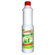 Чистящее средство: САНОКС-ГЕЛЬ 750мл гель  от ржавчины, известковых, органических отл