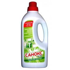 Чистящее средство: САНОКС-ГЕЛЬ 1,1л гель от ржавчины, известковых ,органических отлож