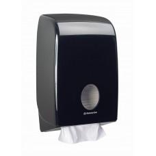 Kimberly-Clark: Диспенсер Аквариус для полотенец в пачках черный
